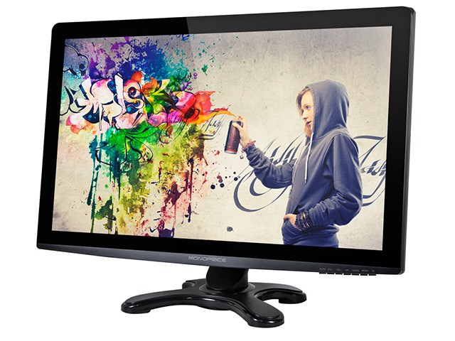 "picture of Monoprice 27"" IPS-Glass Panel Pro LED Monitor"